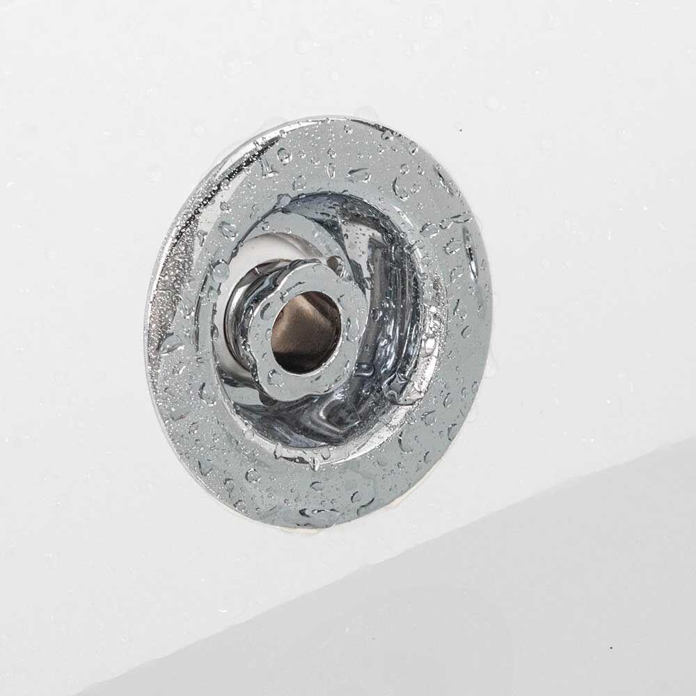 tronitechnik whirlpool samos 150cm x 150cm mit schiene. Black Bedroom Furniture Sets. Home Design Ideas