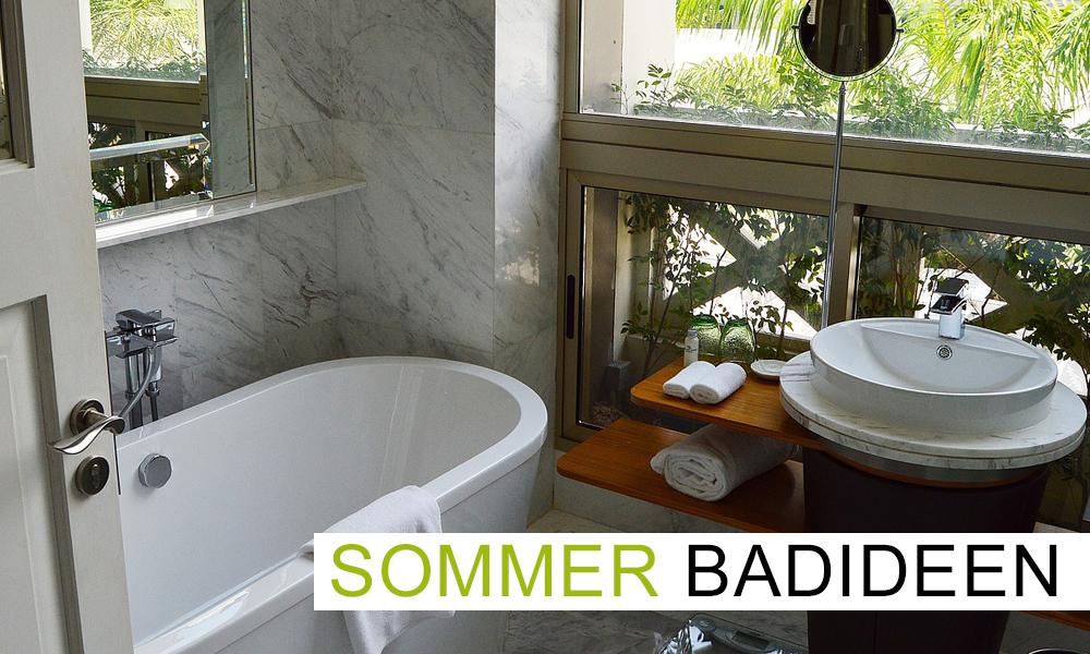 Sommerideen fürs Bad